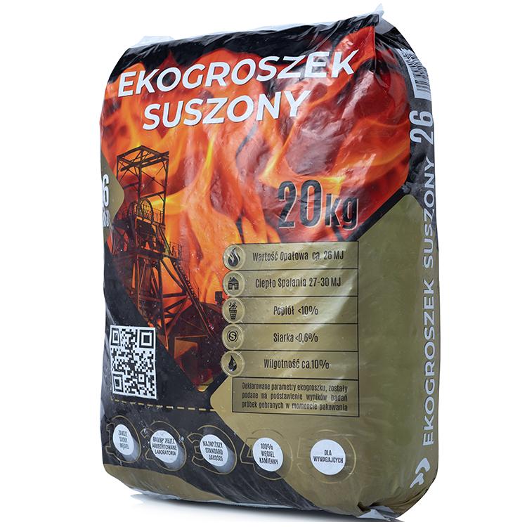Ekogroszek Suszony <br> <small> w workach 20kg <br>Paleta <b>(800kg)</b></small>