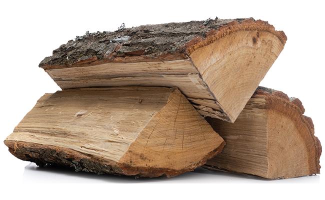 <small>Drewno kominkowe suszone</small><br>DĄB <br> <small>Wilgotność <25%</small>