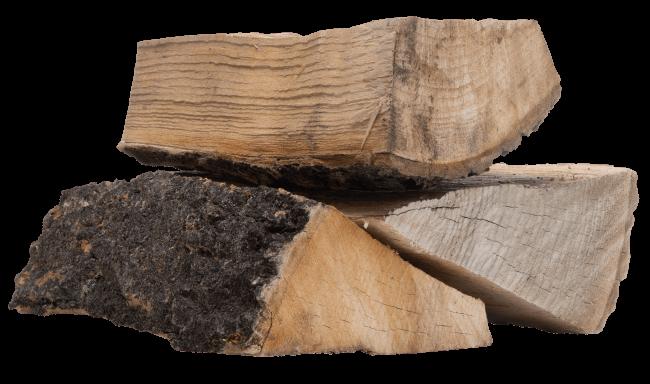 <small>Drewno kominkowe suszone</small><br>JESION <br> <small>Wilgotność <25%</small>