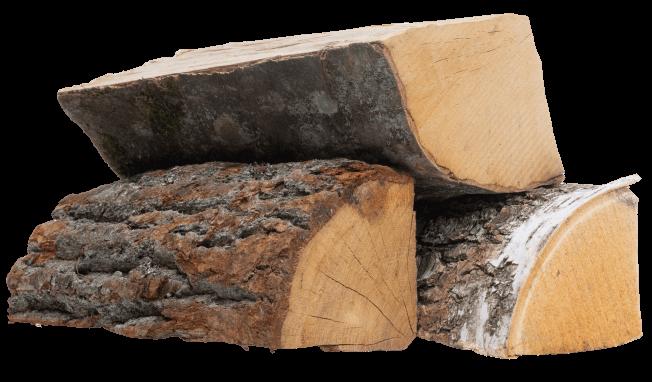 <small>Drewno kominkowe suszone</small><br> MIX <br> <small>Wilgotność <25%</small>